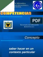 Competencias Bogotá