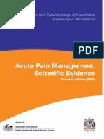 Acute Pain Managemente - Scientific Evidence.pdf