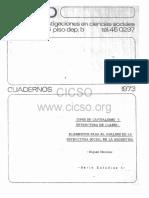 1. Tipos de Capitalismo y Estructura de Clases Elementos Para El Analisis de La Estructura Social de La Argentina. Miguel Murmis