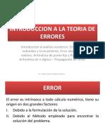 2. Errores