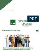 Manual de Implementación de La Vigilancia de Trabajadores Expuestos Al Riesgo de Dermatitis