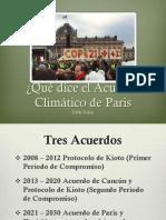 Acuerdo de Paris Final