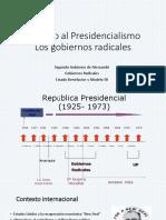2.11 Retorno Del Presidencialismo
