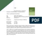 Effects of Black Seed (Nigella Sativa) on Metabolic Parameters in Diabetes Mellitus