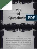 Art of Questioning