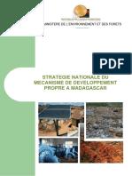 Stratégie Nationale Du Mécanisme de Développement Propre à Madagascar
