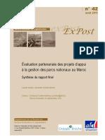 Évaluation Partenariale Des Projets d'Appui