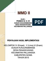 MMD II Kunjungmange