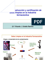 II Salas Limpias en Industria Farmaceutica