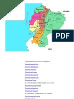 mapa de Provincias Elesiásticas.docx