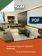 Especificações Para Residências