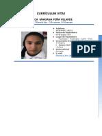 Cv Mariana