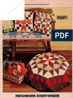 Patchwork Projects Woman's Day Sept. 1973