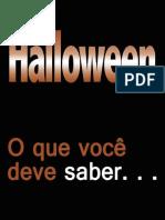 Halloween o Que Voce Deve Saber