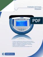 Analisador de Energia RE6000