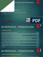Mi Perfil Profesional - Español / My Professional Profile - Spanish
