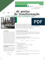 Projecto de Postos de Transformação 6ª Parte