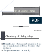 Chemistry of Living Things powerpoint.ppt