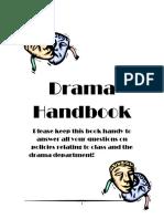 Drama Handbook