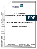 Piping Material Specification