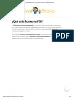 ¿Qué Es La Hormona FSH_ Valores Normales y Significado Del FSH