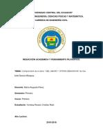 Universidad Central Del Ecuador Realidad Obra