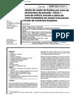 ABNT NBR Iso 5167-1 - Medidores De Vazao Placas De Orificio Venturis.pdf