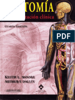 Anatomía Con Orientación Clínica Cuarta Edición, Keith L. Moore y Arthur F. Dalley
