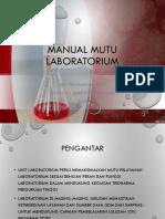 Manual Mutu Laboratorium
