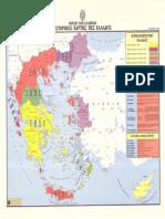 Ιστορικός Χάρτης Της Ελλάδος - Γεωγραφική Υπηρεσία Στρατού