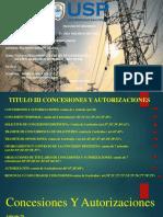 Titulo 3 Concesiones y Autorizaciones