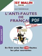 L Anti-fautes de Français