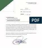 OF.N°2550 DEL 18-10-2018 - SOL. RENUNCIA AL CARGO