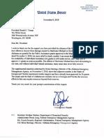 Sen. Doug Jones letter to President Donald Trump