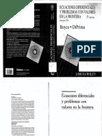 Ecuaciones diferenciales Boyce-Diprima