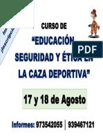 Curso de Capacitacion Caza Deportiva