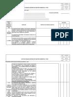 123-OCSG-F49 V2 - Lista de Chequeo Sistemas de Gestión Ambiental y SYSO (Autoguardado)