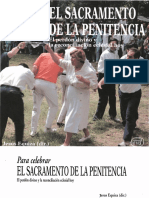 Equiza Jesus Para Celebrar El Sacramento de La Penitencia