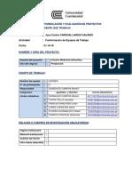 Ficha de Inscripcion Equipos de Trabajo 2018-20