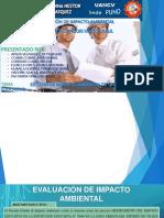 Diapositivas Grupal de Evaluacion de Impacto Ambiental