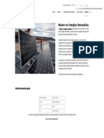 Master en Energías Renovables - Formación Académica