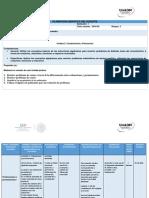 Planeación U3. Combinatoria y Polinomios