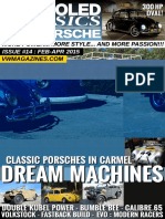 Aircooled Classics VW & Porsche - February April 2015