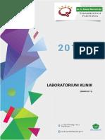 Profil Indikator Mutu Pelayanan Laboratorium