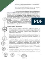 Convenio de Gestion Entre Gobierno Regional Arequipa y SIS Para Pago Capitado