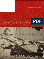 (Next Wave_ New Directions in Women's Studies) Anjali Arondekar-For the Record_ on Sexuality and the Colonial Archive in India-Duke University Press Books (2009)