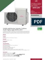 Multisplit Fujitsu -AOYG_LAT3