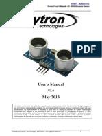 HC-SR04 User Manual.pdf