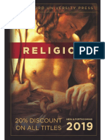 Religion Catalog 2019 (Stanford University Press)