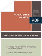 Replacement Analysis FINAL